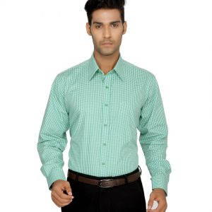 Devaa-Green-Wrinkle-Free-Shirt-00